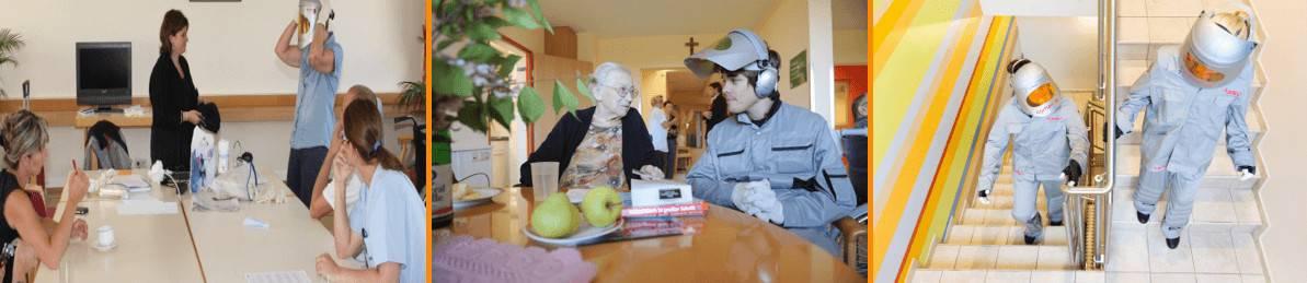 Personalschulung Altersanzug AgeMan
