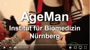 Altersanzug AgeMan 15 sec Video