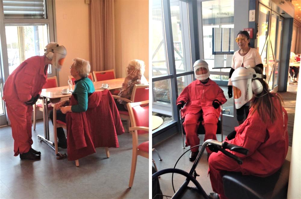 Fortbildung Altenpflege Alterssimulation