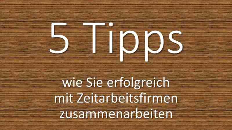 5 Tipps zur Zeitarbeit in der Altenpflege