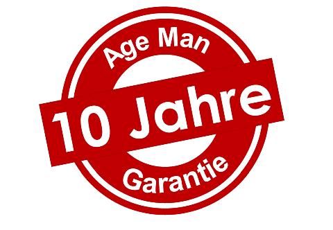 Nur der Altersanzug / Alterssimulationsanzug AgeMan bietet 10 Jahre Garantie