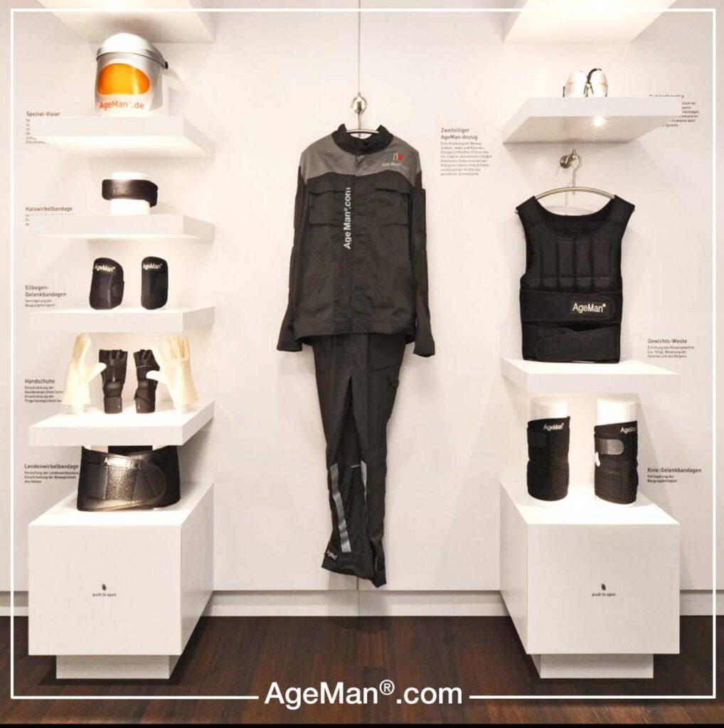 Alterssimulation mit dem AgeMan Premium